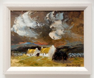 Connemara Cottages (Oil 10x8)